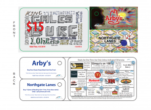Exclusiver Saver Card 2018